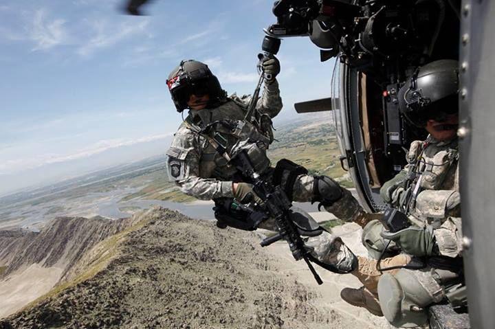 MEDEVAC Special Operations Combat Medic in UH-60 Blackhawk