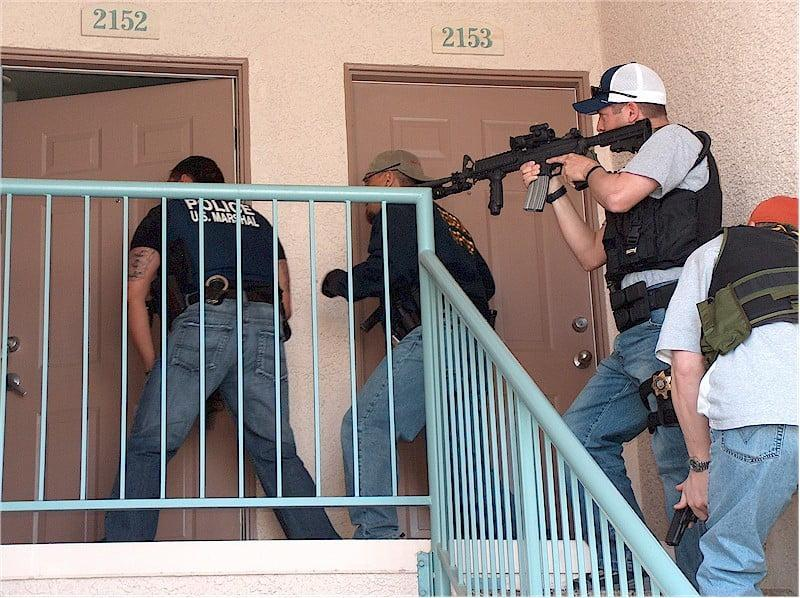 US Marshals SOG in action