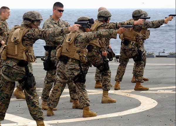 USMC FAST - Fleet Anti-Terrorism Security Team 2