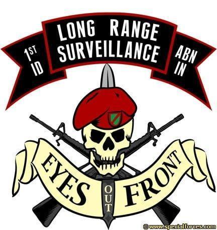 long range surveillance insignia