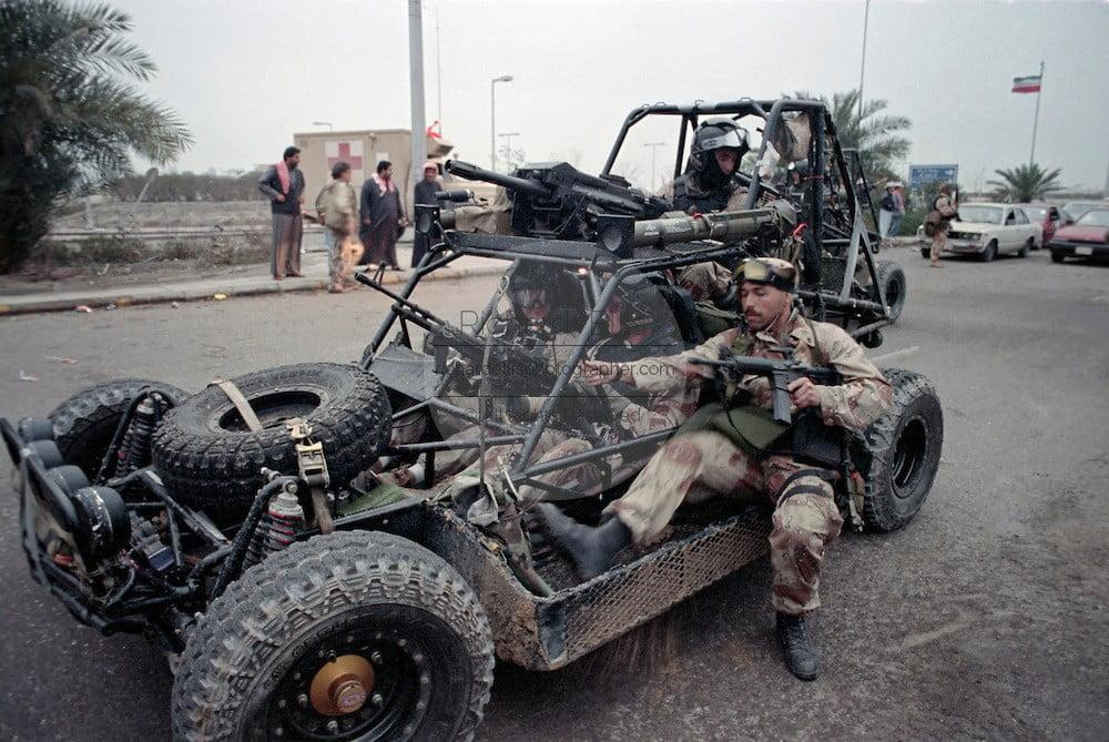 DPV in Gulf War, Kuwait City