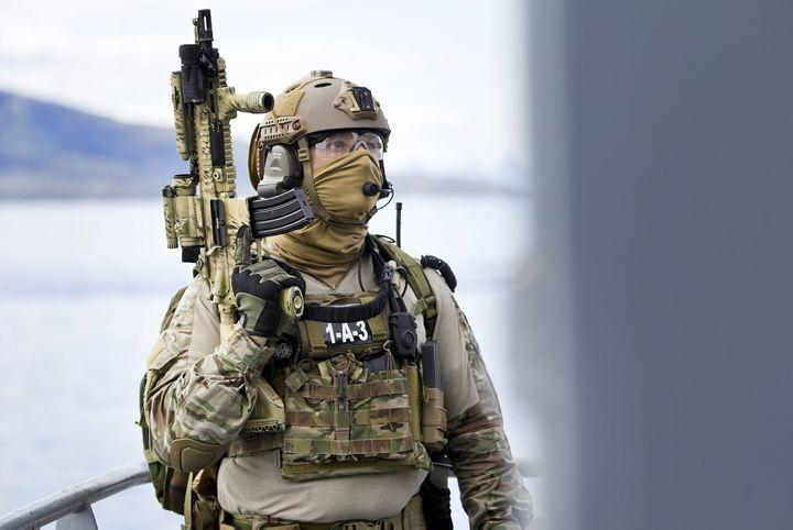 Member of the Norway's Marine Jager unit