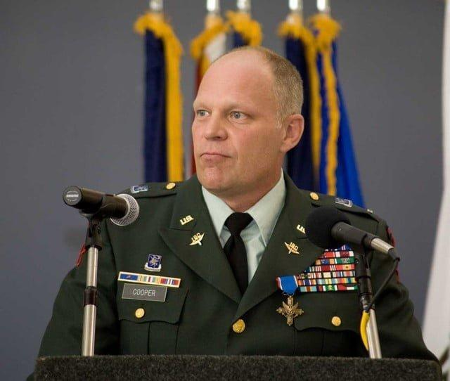 Army Chief Warrant Officer 5 David Cooper