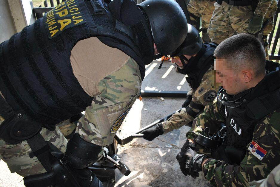 SIPA joint tactical training with Serbian SAJ