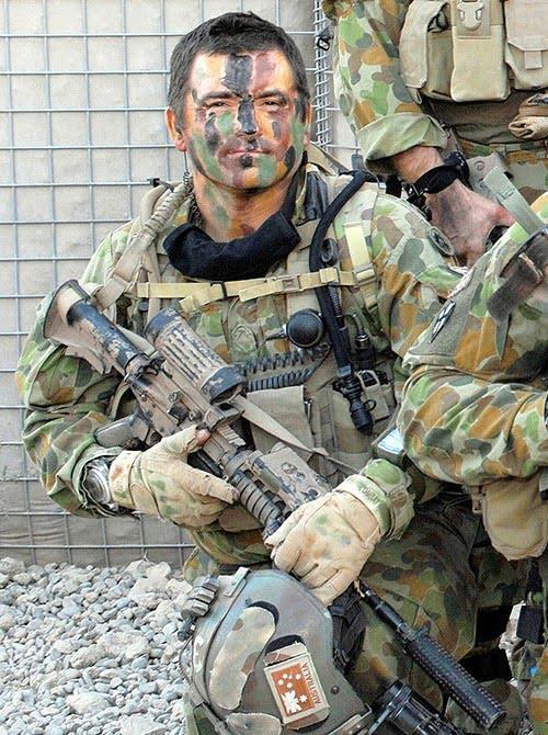 Sergeant Troy Simmonds 2008