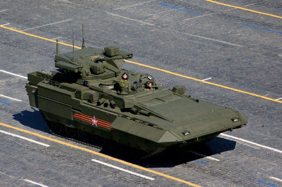 Armata Universal Combat Platform - 5 Russian weapons the world should be afraid off