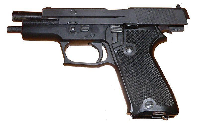 P220 Swiss military model without an exeternal safety