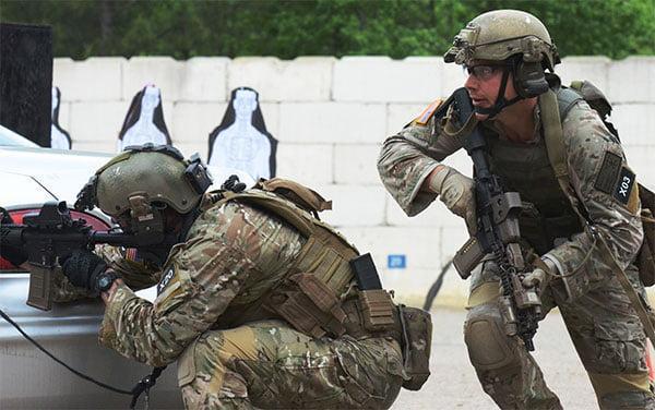 us special forces sopmod - M4 Carbine