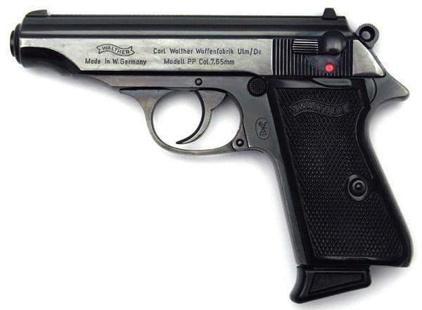 Original Walther PP (Polizei Pistol - Police Pistol) manufactured in 1972