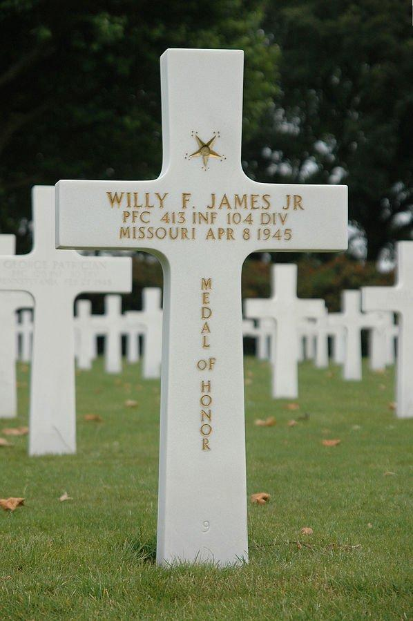 Pfc. Willy F. James, Jr.