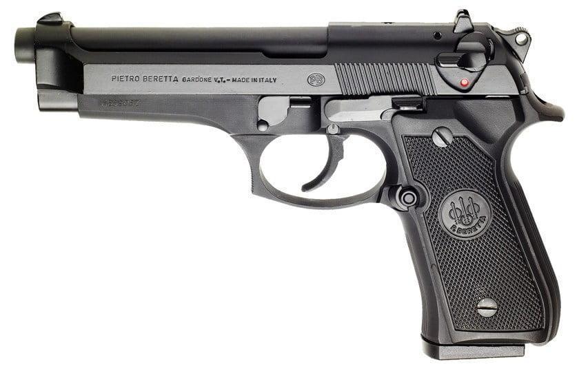 Standard Beretta 92 model