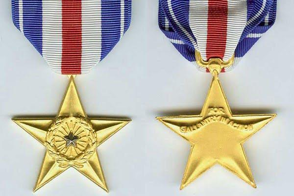 silver star - 10 most highly decorated Americans since 9/11