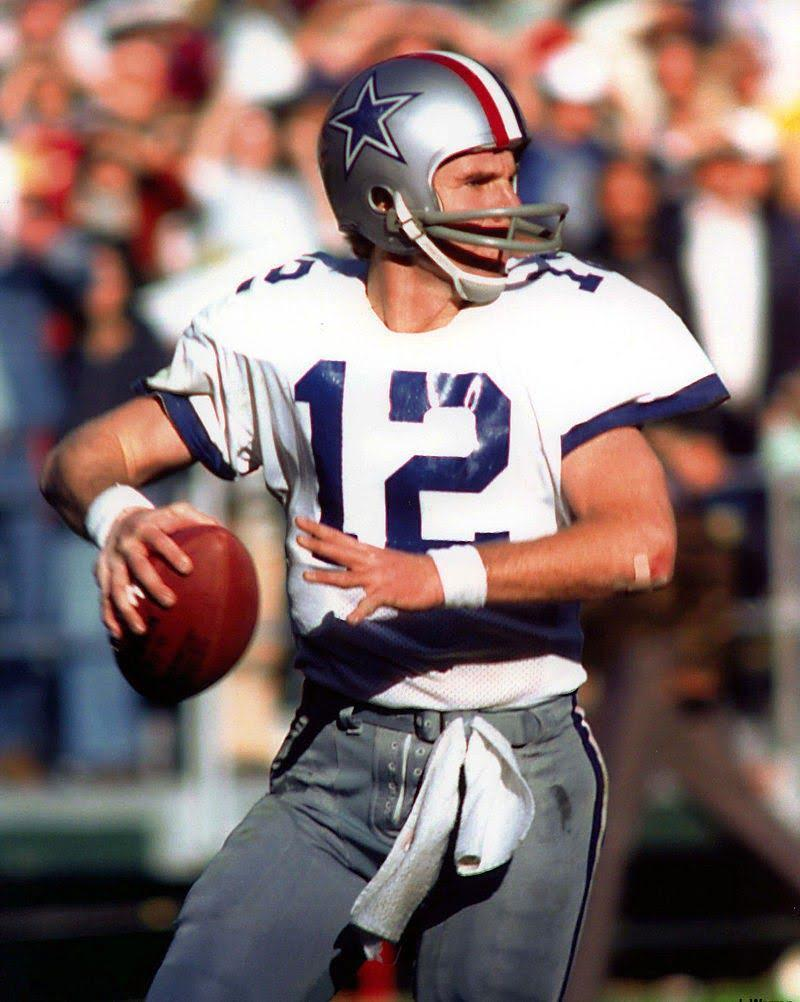 Roger Staubach in 1976